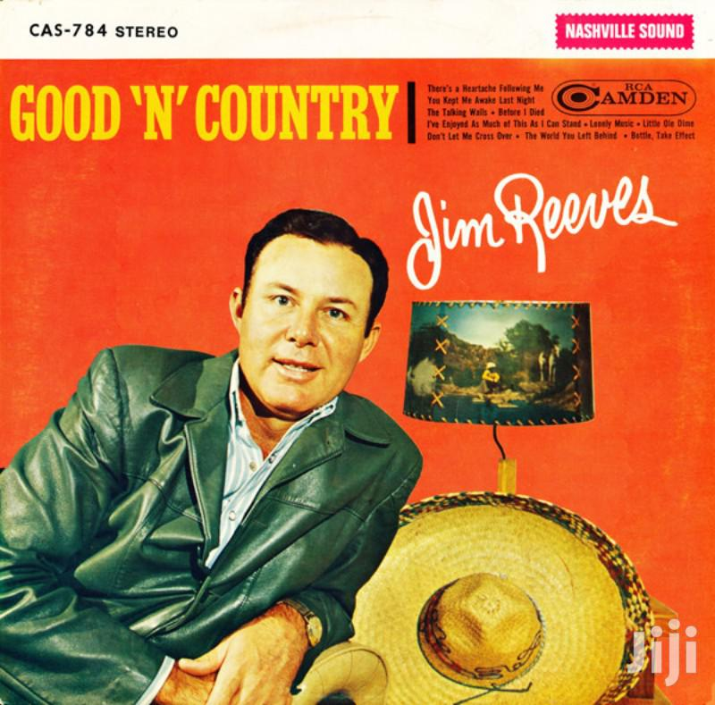 Vinyl Gramophone Record - English - Country - Jim Reeves