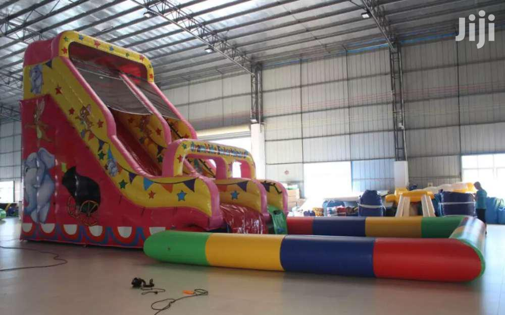 Bouncing Castle With Water Slide For Hire