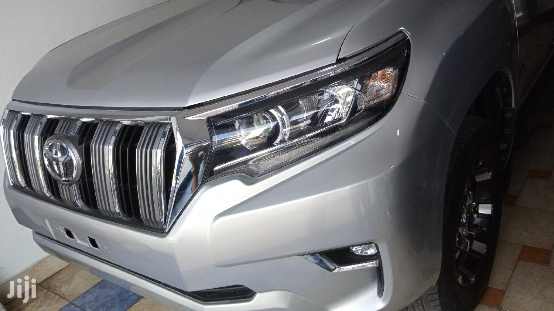 Toyota Land Cruiser Prado 2014 Silver