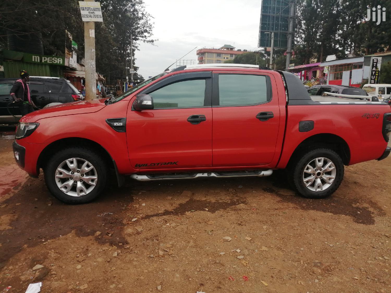 Ford Ranger 2012 Orange   Cars for sale in Runda, Nairobi, Kenya