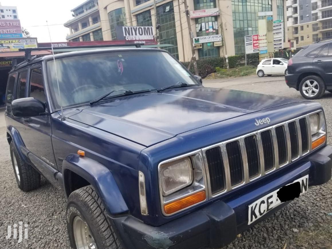 Archive Jeep Cherokee 2001 Blue In Woodley Kenyatta Golf Course Cars Saluimports Jiji Co Ke