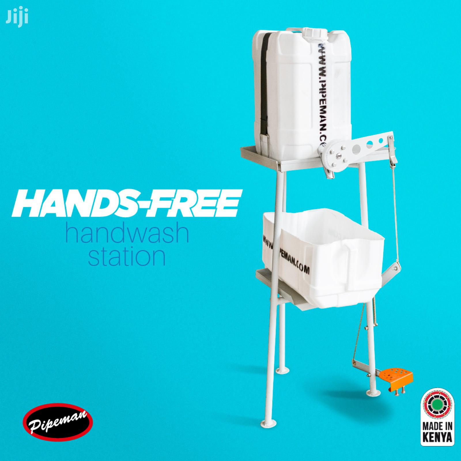 Pipeman, Hands- Free Hand Wash Station