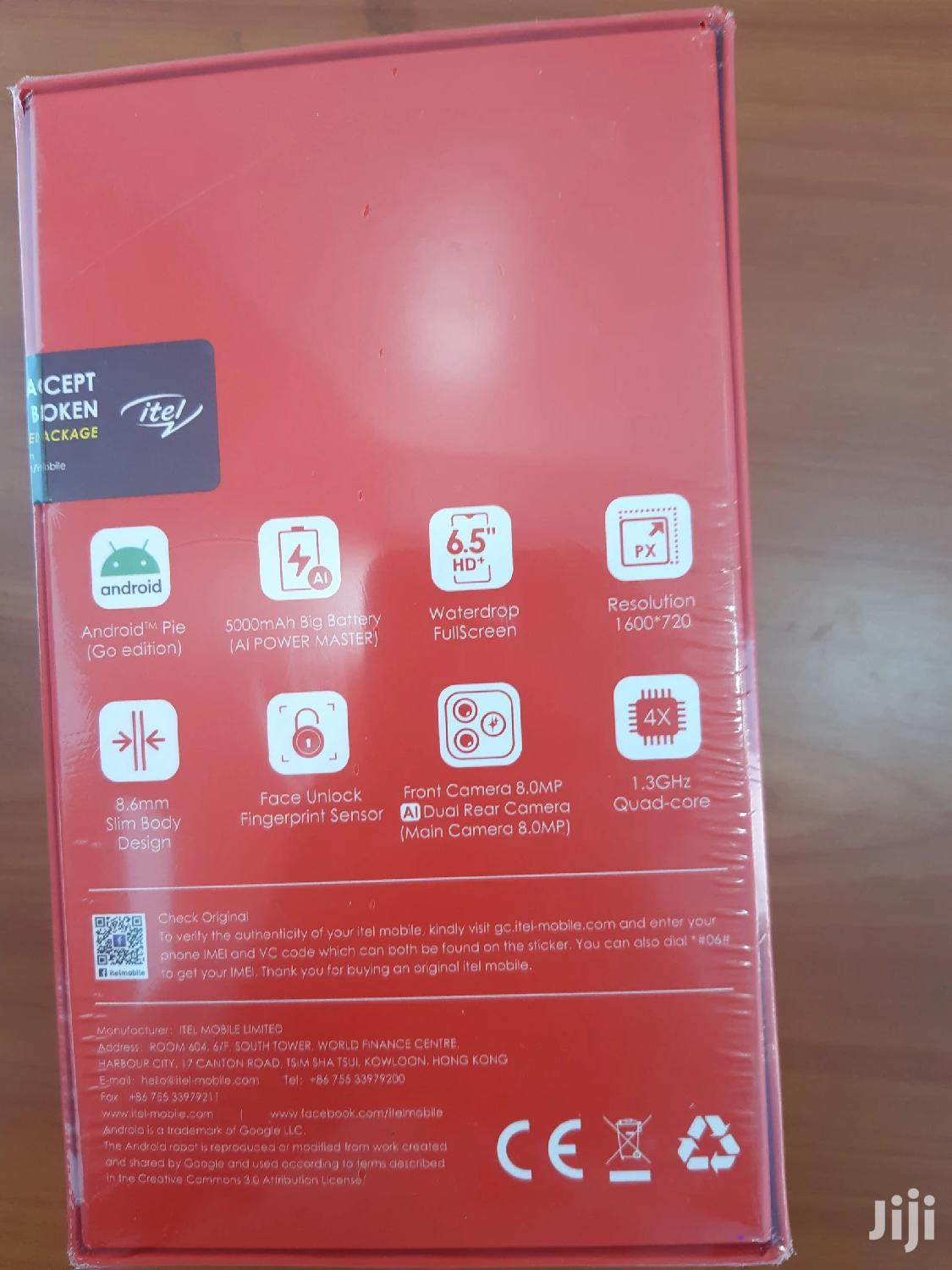 New Itel P36 16 GB Blue | Mobile Phones for sale in Kisii Central, Kisii, Kenya