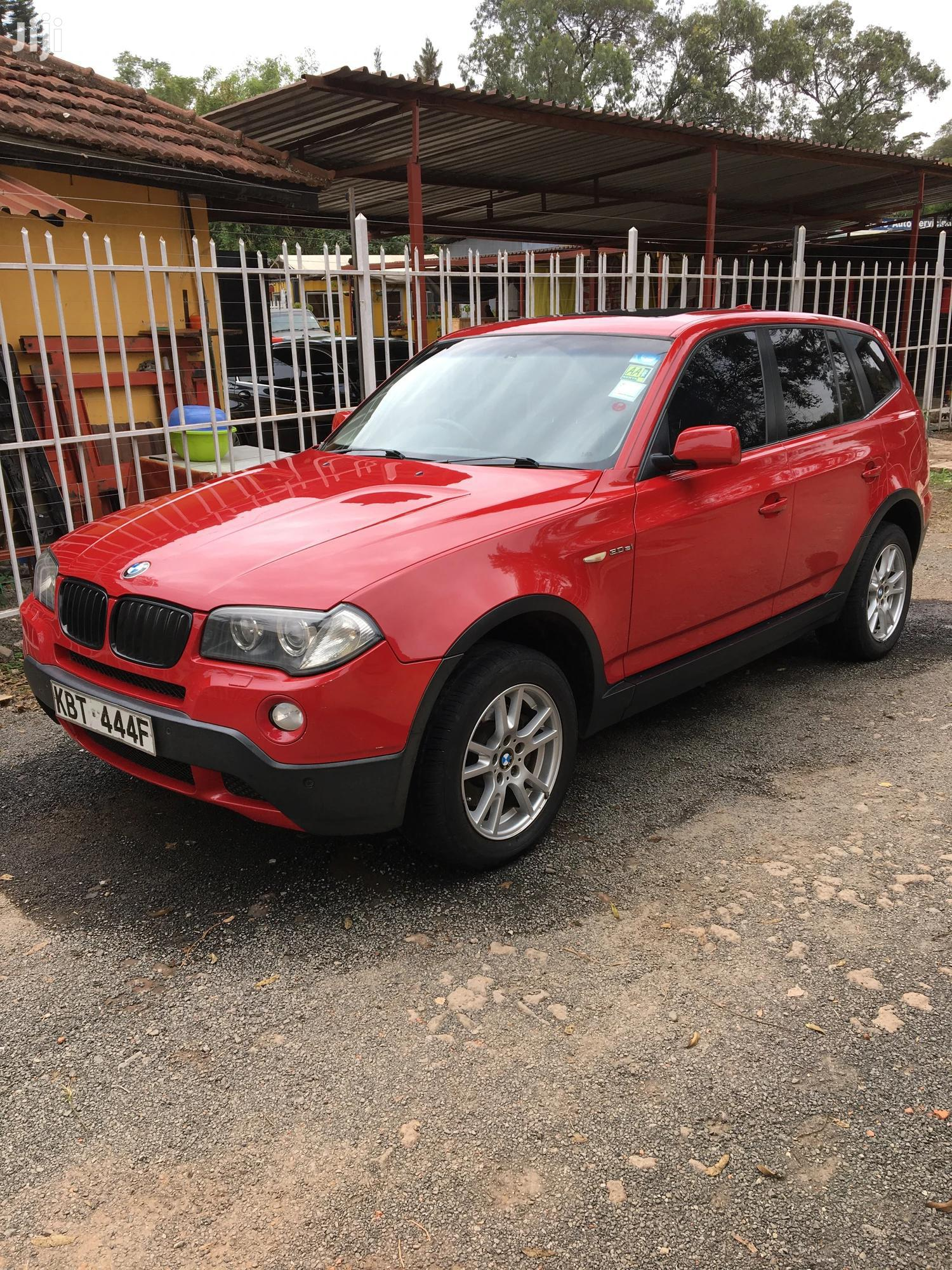 Archive: BMW X3 2008 3.0si Exclusive Automatic Red