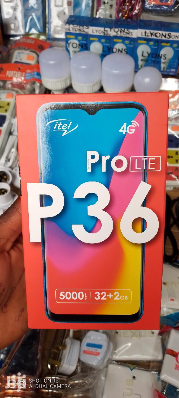 New Itel P36 Pro 32 GB Pink