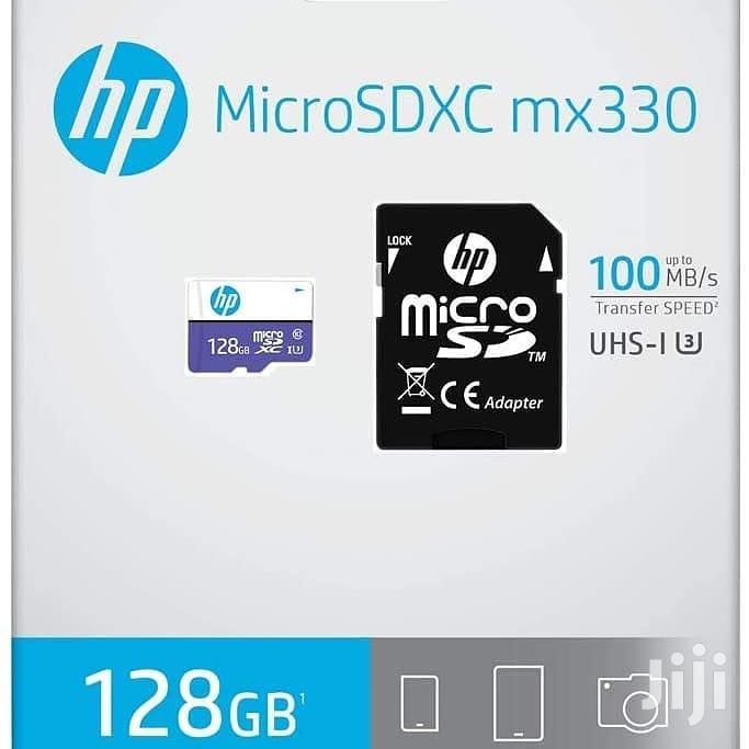 Archive: HP Micro SD Card Memory 128gb(Genuine)