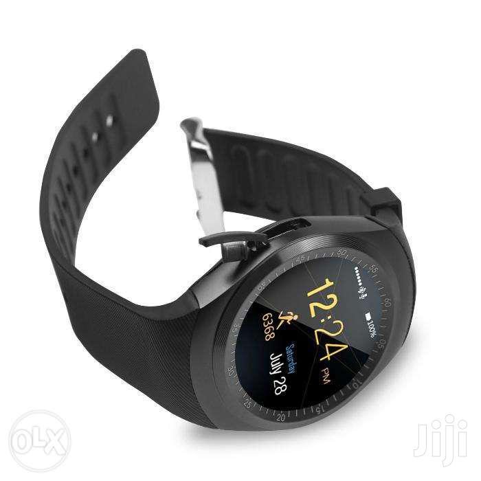 Brand New Q18 And Y1- Smart Watch Phone With Mpesa | Smart Watches & Trackers for sale in Nairobi Central, Nairobi, Kenya