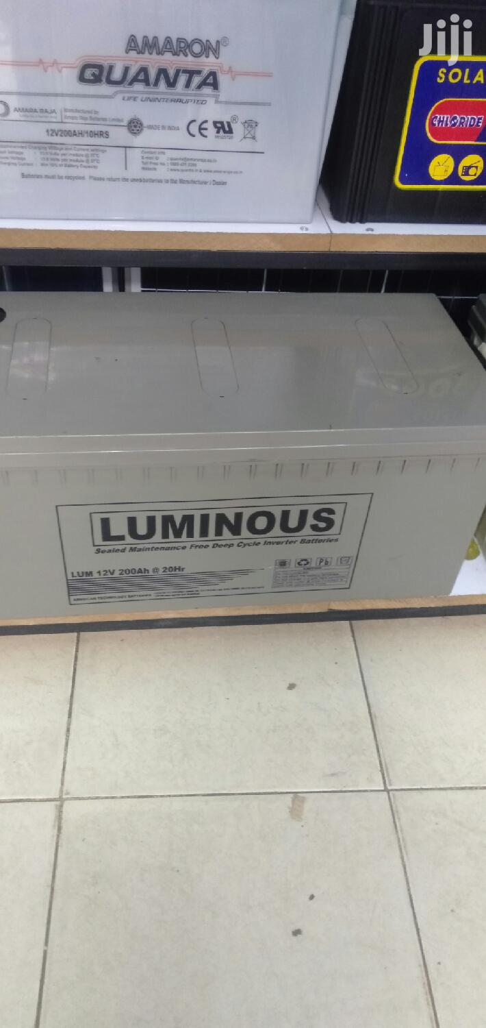 Luminous Battery 200A/H.