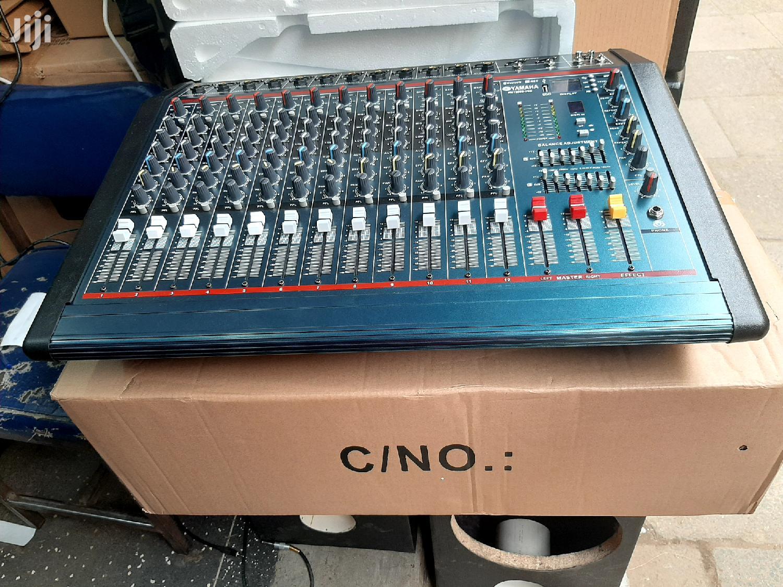 Yamaha Powered Mixer/Amplifier 12channel   Audio & Music Equipment for sale in Nairobi Central, Nairobi, Kenya