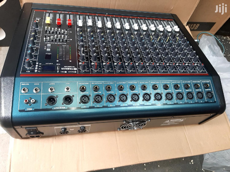 Yamaha Powered Mixer/Amplifier 12channel