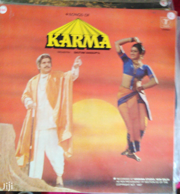Vinyl Gramophone Record Album - Indian - KARMA