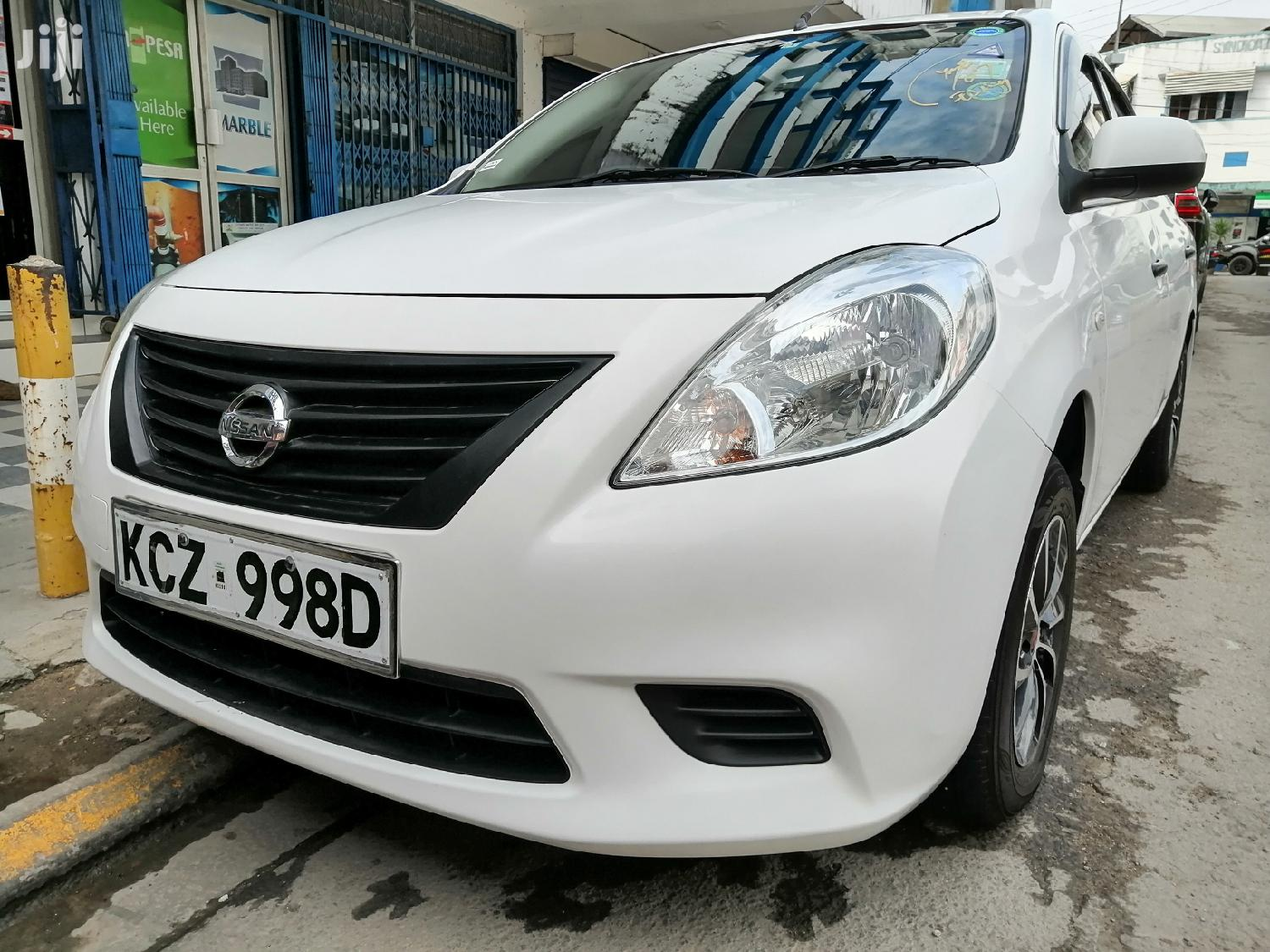 Nissan Tiida 2013 White | Cars for sale in Mvita, Mombasa, Kenya