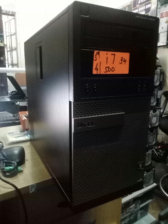 Desktop Computer Dell 8GB Intel Core i7 HDD 500GB   Laptops & Computers for sale in Nairobi Central, Nairobi, Kenya