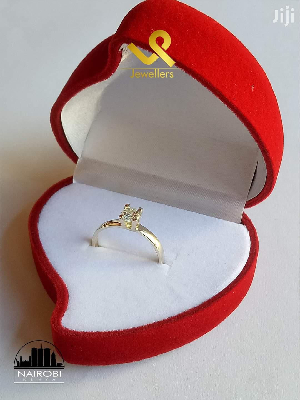 Ladies Custom Made Yellow Gold Engagement Ring   Wedding Wear & Accessories for sale in Nairobi Central, Nairobi, Kenya
