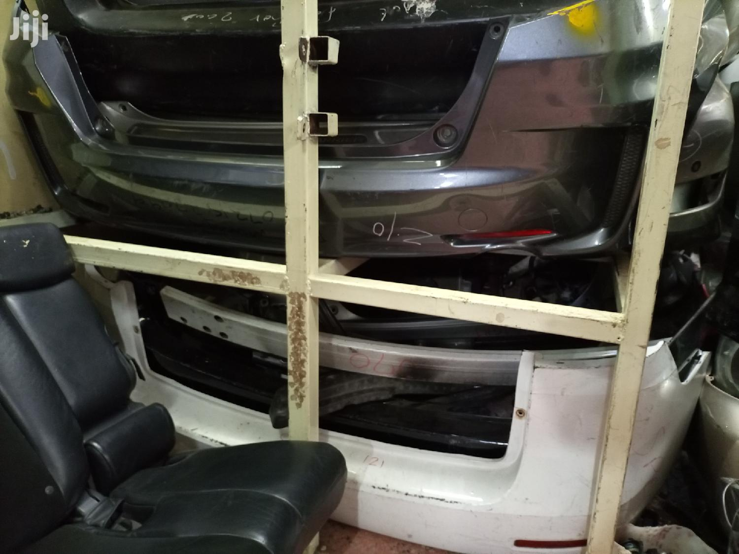Archive: Honda Fit Sport&Spacio Rear Bumpers Available