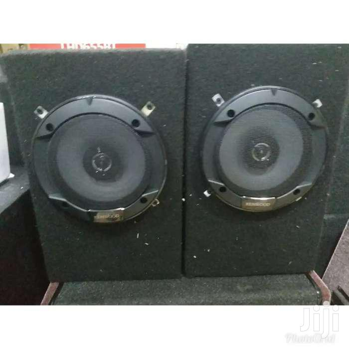 Kenwood 6 Inches Speakers In Cabinets For Domestic Use