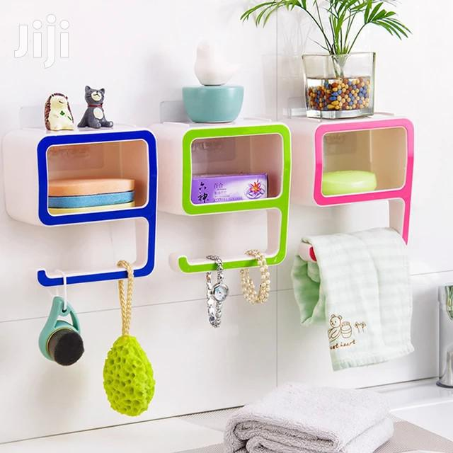 New Creative Design 9 Plastic Soap Box Shelf