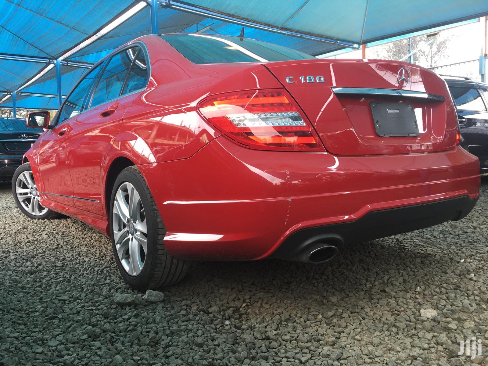 Mercedes-Benz C180 2013 Red | Cars for sale in Kilimani, Nairobi, Kenya
