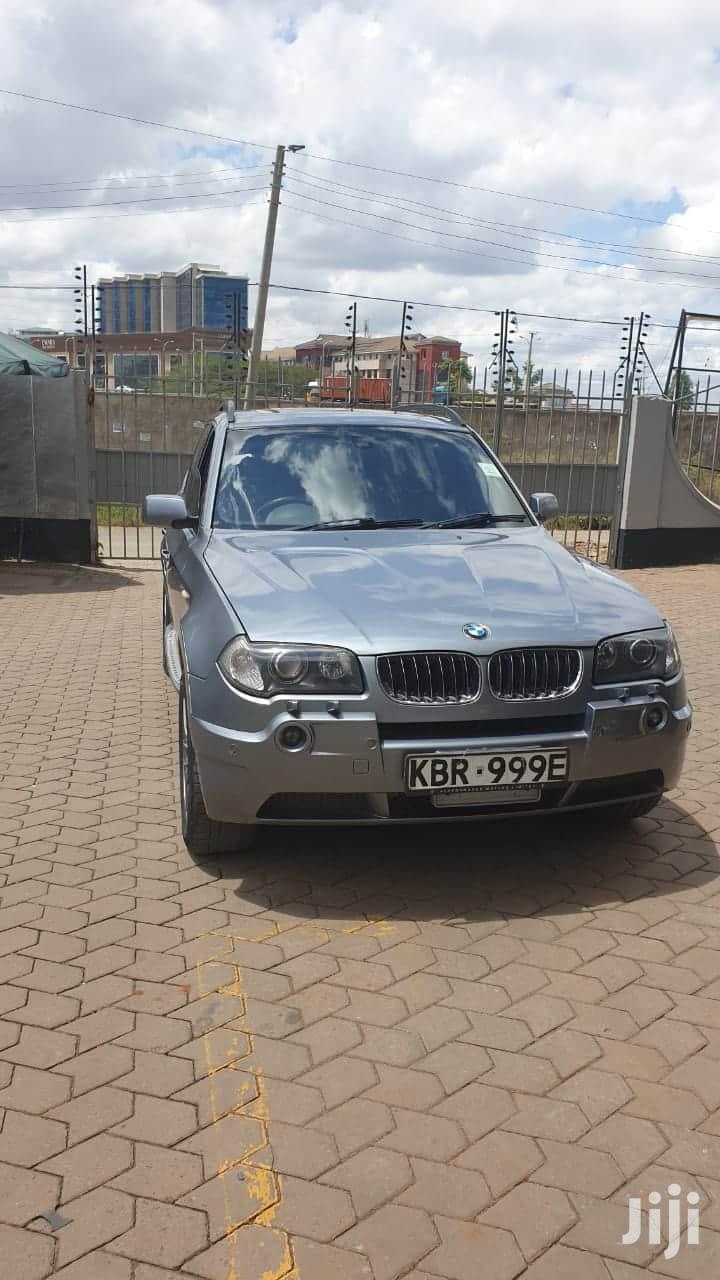 BMW X3 2006 Gray