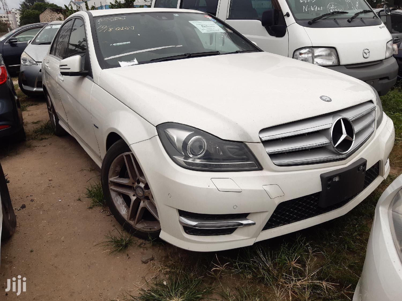 Mercedes-Benz C200 2013 White