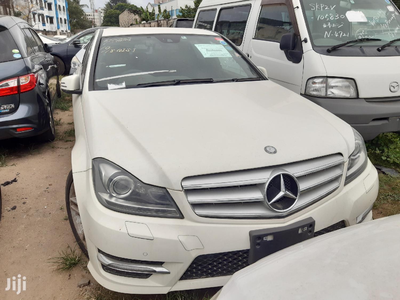 Mercedes-Benz C200 2013 White | Cars for sale in Shimanzi/Ganjoni, Mombasa, Kenya