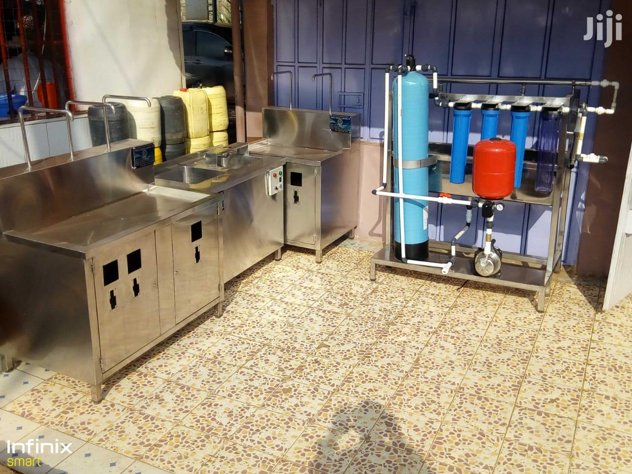 Water Treatment And Vending Machine