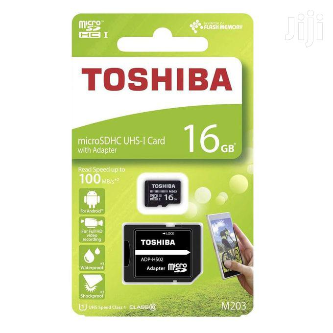 Archive: Toshiba 16gb Memory Card