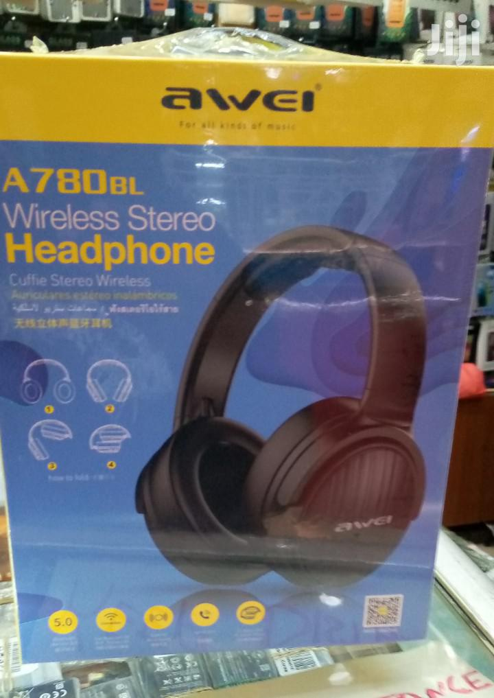 Awei A780BL Bluetooth Headset. | Headphones for sale in Nairobi Central, Nairobi, Kenya