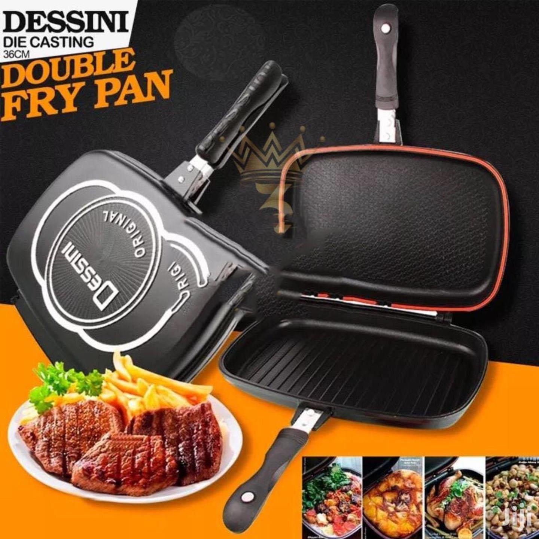 Dessini Two-Sided Double Grill Non-Stick Pressure Pan 36cm
