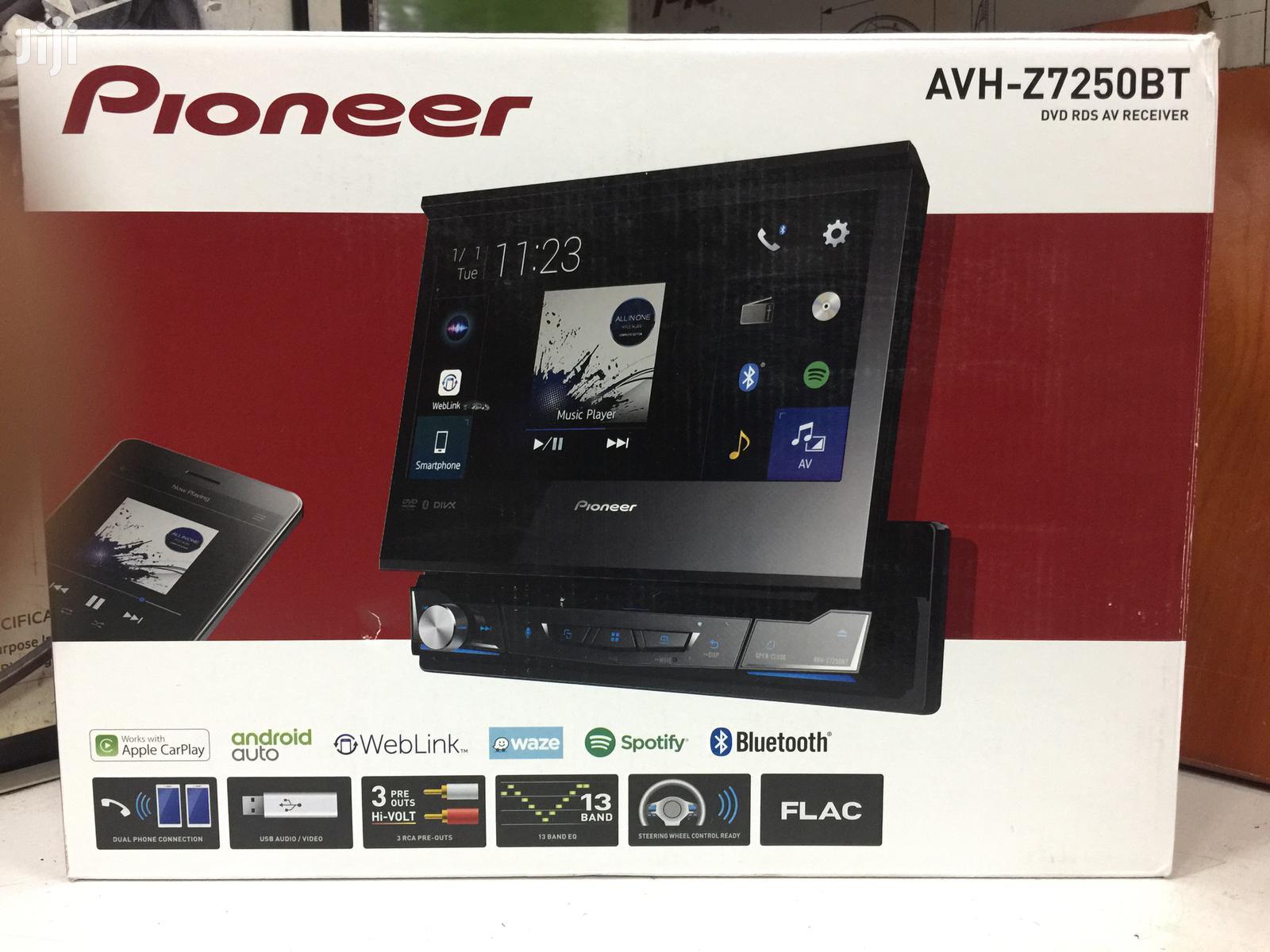 Avh Z7250bt Pioneer Car Radio