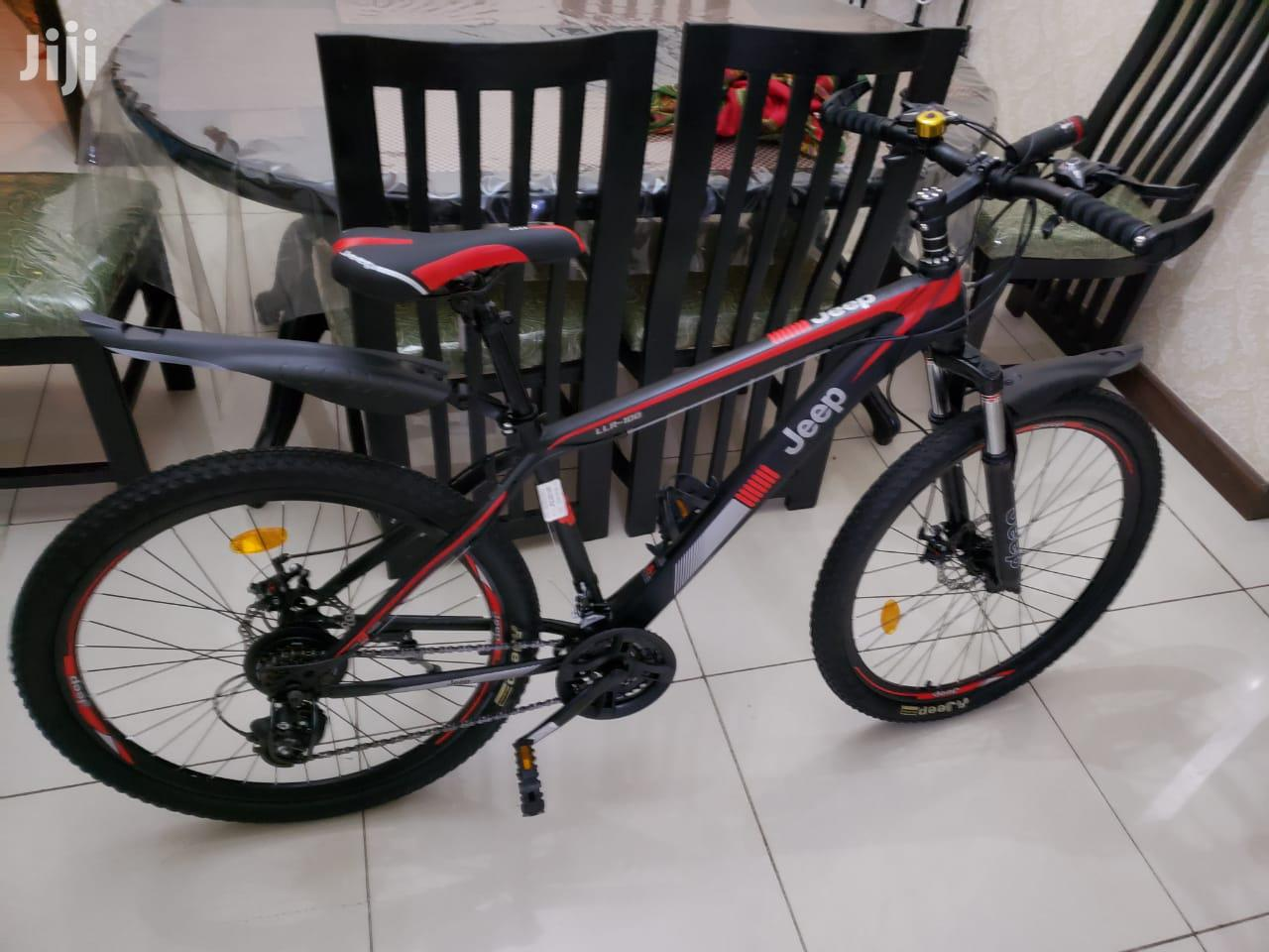 Jeep Original Bicycle for Sale, Best Price Mountain Bike   Sports Equipment for sale in Westlands, Nairobi, Kenya