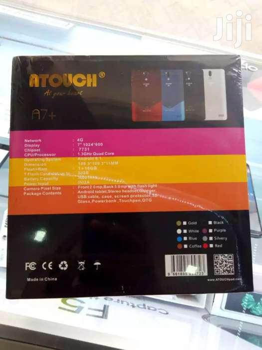 Kids Tablets Atouch A7+ Model 16gb 1GB Ram 4G Lte Dual Sim DELIVERY | Toys for sale in Nairobi Central, Nairobi, Kenya