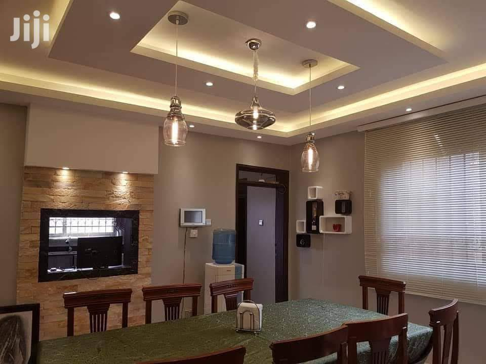 Gypsum Ceiling and Tv Cabinets