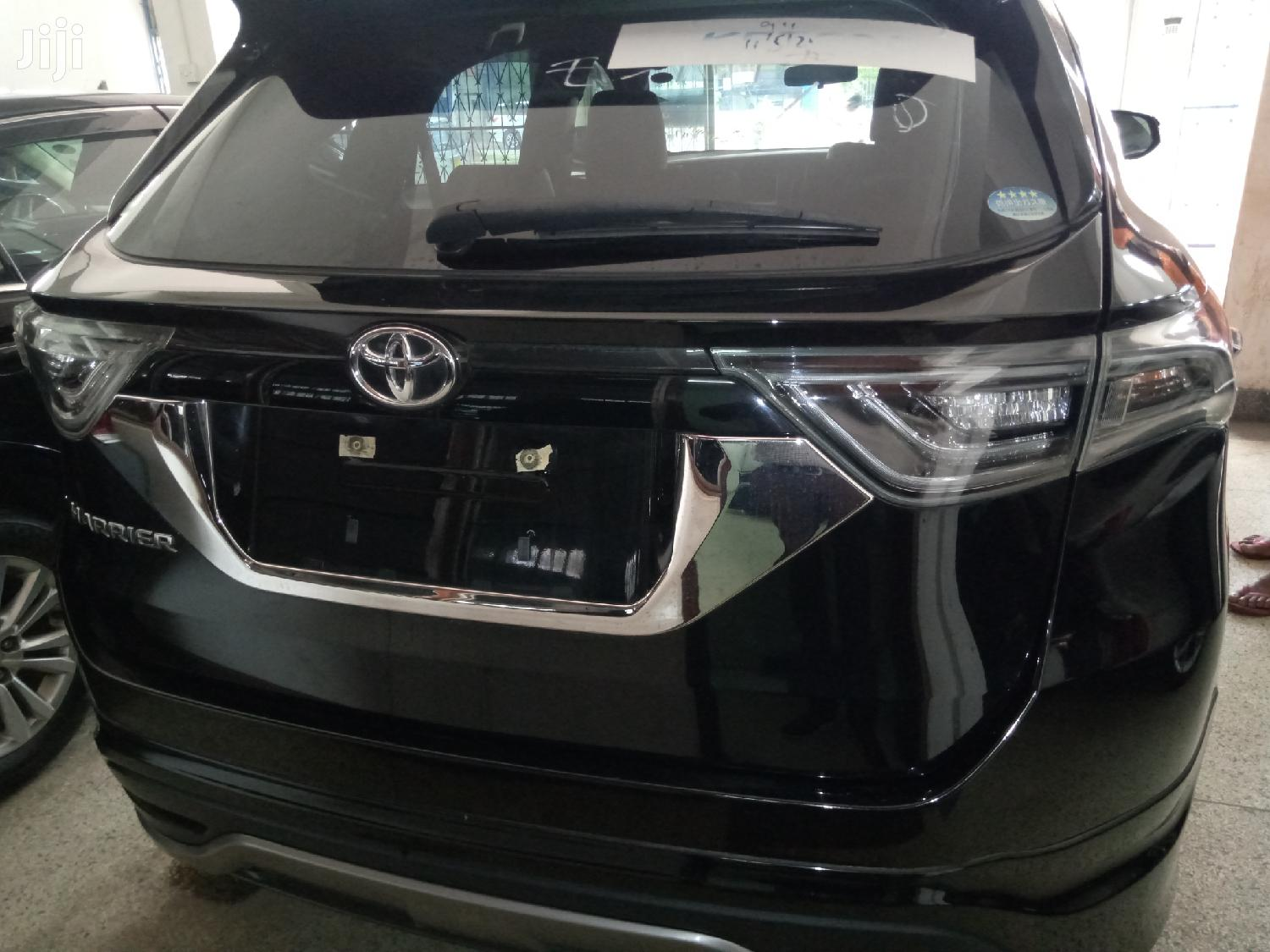 Toyota Harrier 2015 Black | Cars for sale in Ziwa la Ng'ombe , Mombasa, Kenya