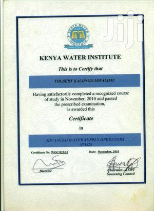 Swimming Pool Maintenance Technician   Construction & Skilled trade CVs for sale in Nairobi, Kawangware
