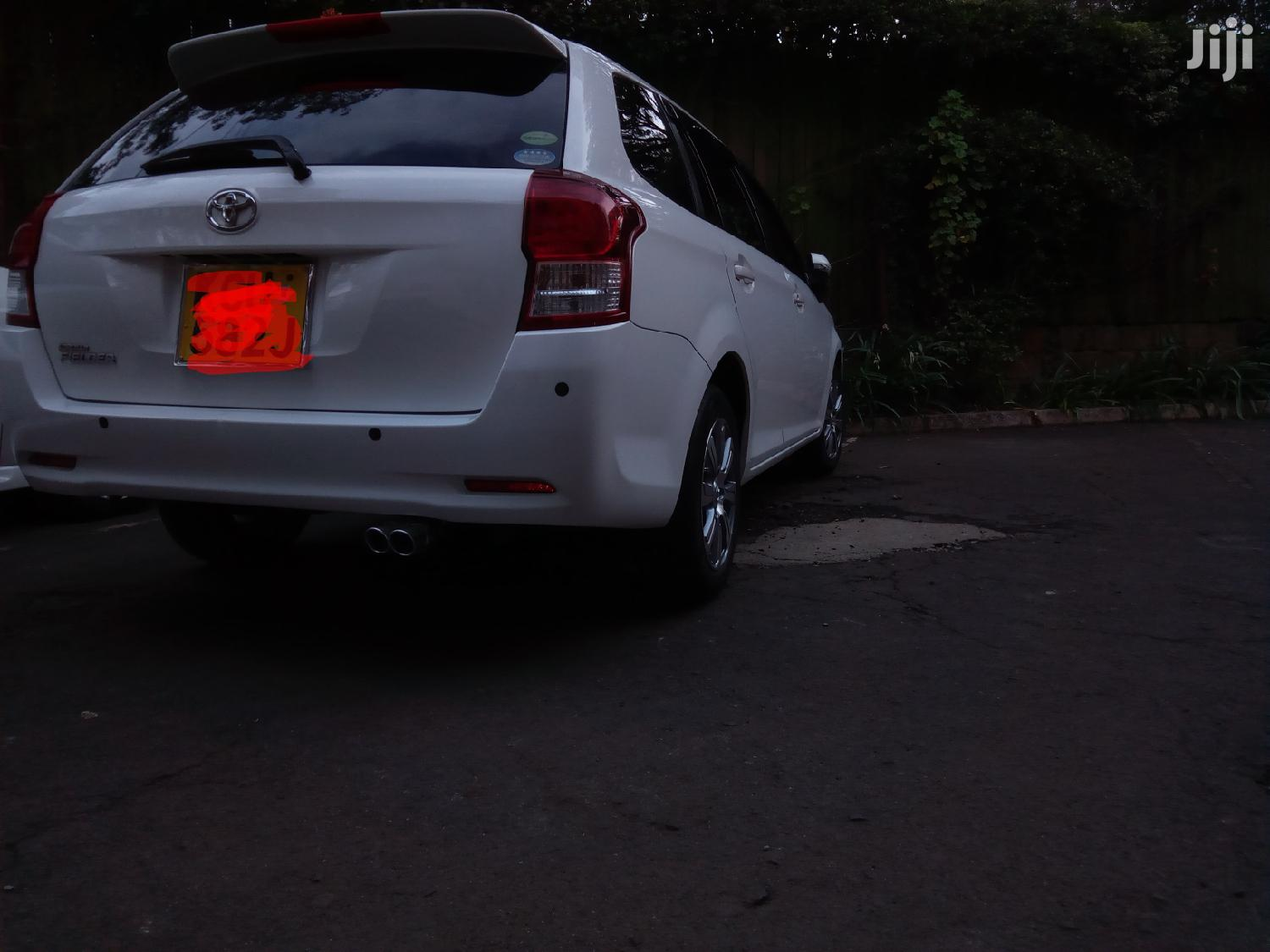 Toyota Fielder 2012 White | Cars for sale in Westlands, Nairobi, Kenya