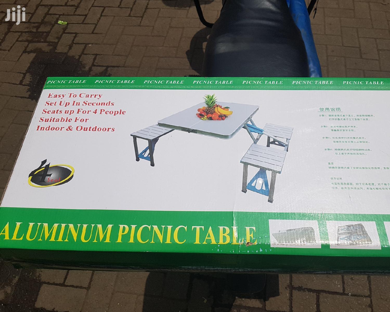 Aluminium Picnic Table | Camping Gear for sale in Nairobi Central, Nairobi, Kenya