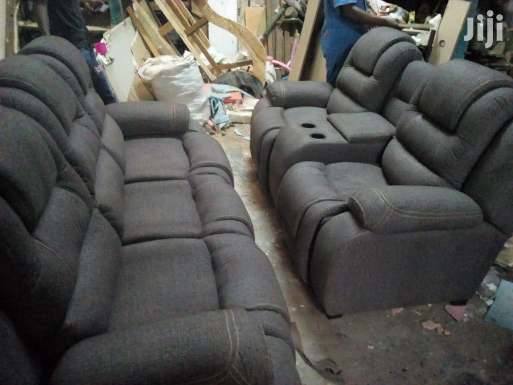 Modern 5 Seater Sub Recliner Sofa