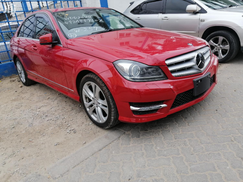 Mercedes-Benz C200 2013 Red   Cars for sale in Shimanzi/Ganjoni, Mombasa, Kenya