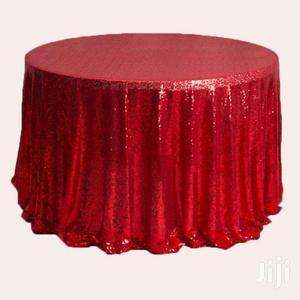 Sequin Table Fabrics For Hire & Sale