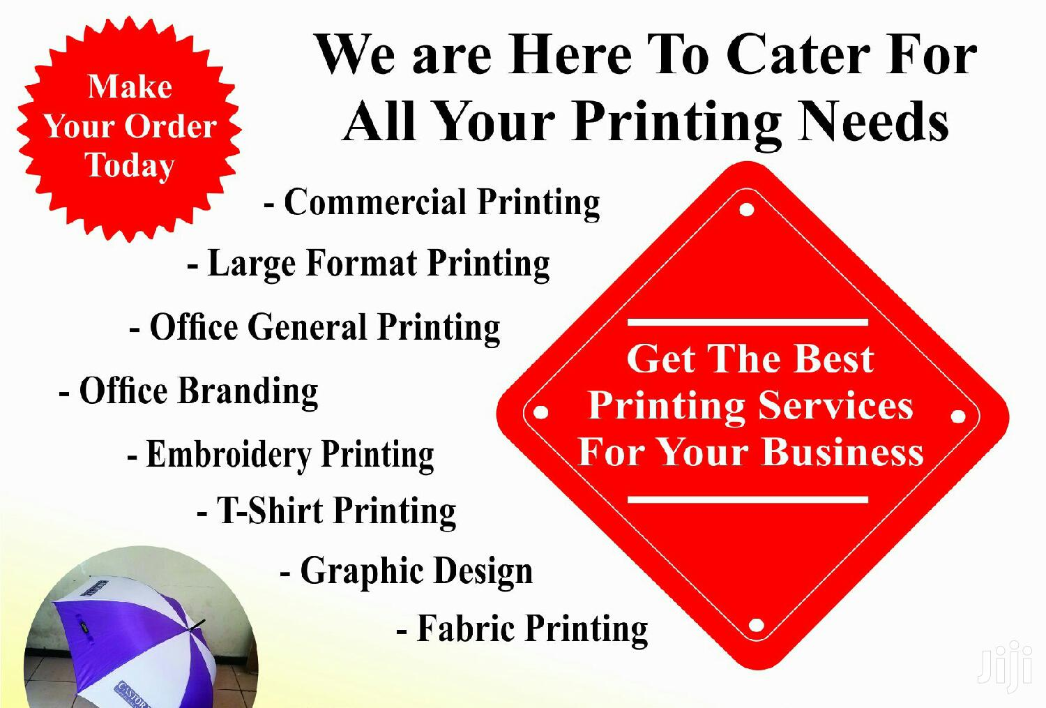 Printing Services