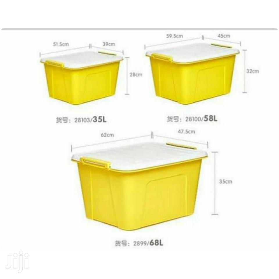 Big Storage Containers 38litres