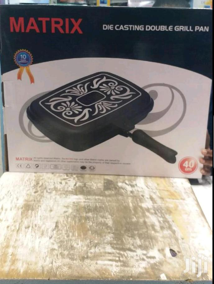 Essential Double Grill Pan 40cm
