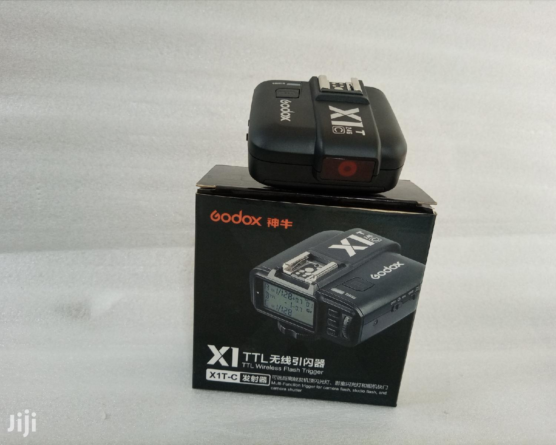 Godox X1T-C TTL Wireless Flash Trigger Transmitter - Canon