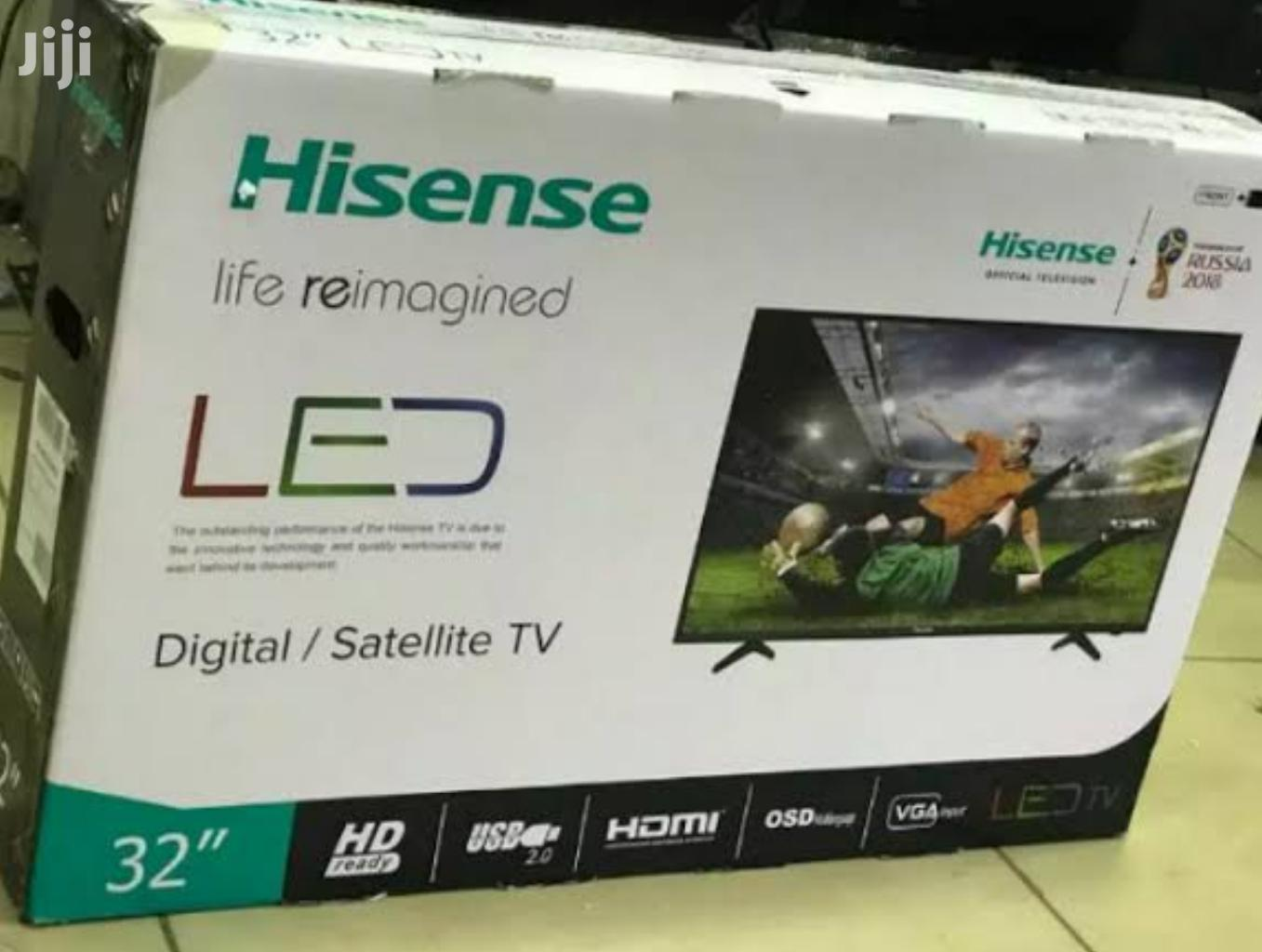 "Hisense 32"" Digital Tv Brand New and Sealed in a Shop"