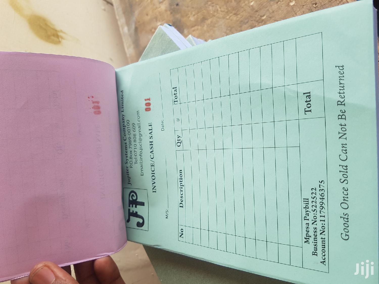 Receipt Books | Other Services for sale in Nairobi Central, Nairobi, Kenya