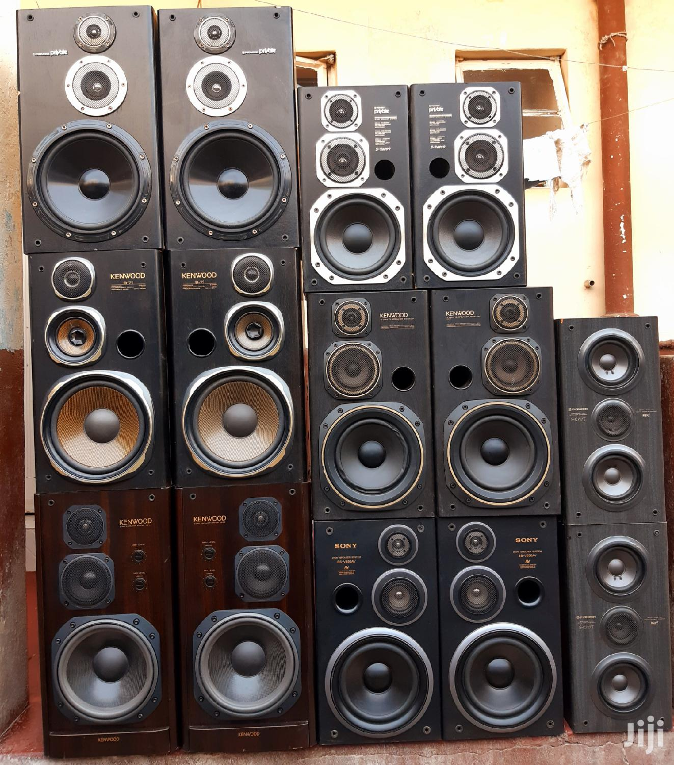 Ex Japan Original Speakers Buffet. You Search Is Over.