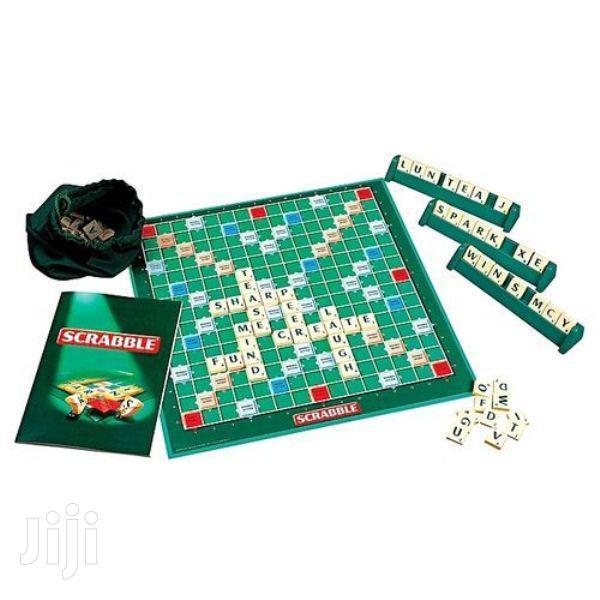 Scrabble Unisex Scrabble With 4 Maximum Player Crossword Gam