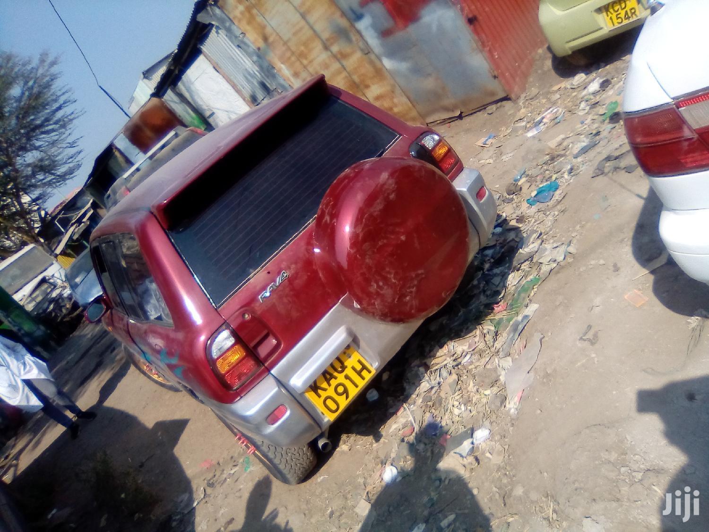 Archive: Toyota RAV4 1998 Cabriolet Red