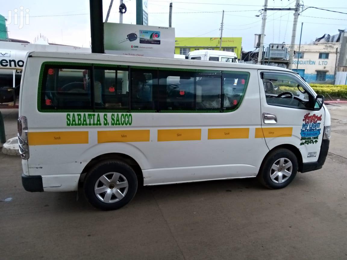 Toyota Hiace 2007 White For Sale | Buses & Microbuses for sale in Nairobi Central, Nairobi, Kenya